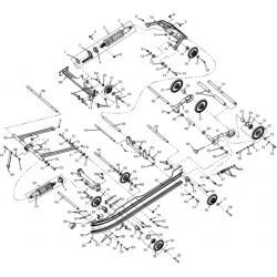 Движитель гусеничный S10200100