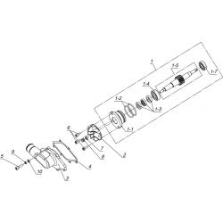 Установка привода водяного насоса К20500040