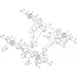 Крепление двигателя (2 карбюратора)