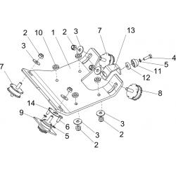 Основание двигателя