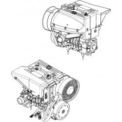 Двигатель С40500500-08