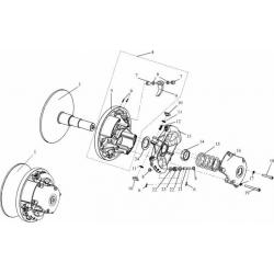 Регулятор центробежный  C40600900-03