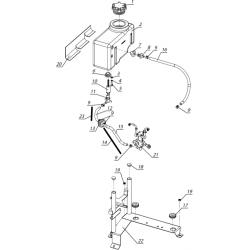 Система впрыска масла C40800360-02