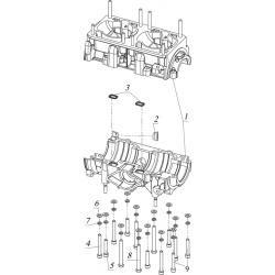 Картер двигателя К20500150