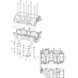 Картер двигателя С40501110 для к/в С40500520