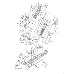 Лыжа, передняя подвеска/540III