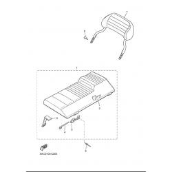 Сидение, спинка сидения/540III