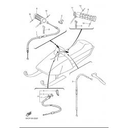 Троса, ручки руля/540III