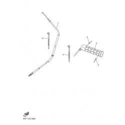 Ручки руля, трос газа/Vent TF