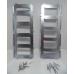 Подножки для снегохода Буран металлические под штатное крепление (комплект 2 шт. с крепежом)