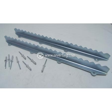 Подножки- упоры боковые L 400 мм. (комплект 2 шт. с крепежом)